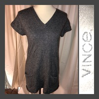 Dark Heather Gray Top