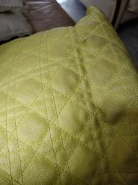 Dior Panarea Tote Bag (Yellow) Angle5