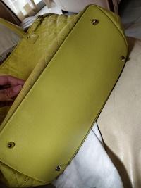 Dior Panarea Tote Bag (Yellow) Angle6