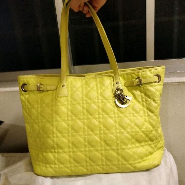 Dior Panarea Tote Bag (Yellow)