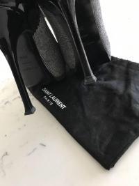 YSL Yves Saint Laurent Tweed Platform Pump  Angle5