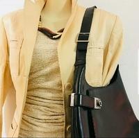 VINTAGE ferragamo leather hobo/shoulder bag purse