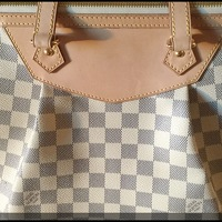Louis Vuitton Siracusa Azur GM