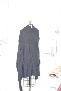 Wool DVF wrap dress Angle5