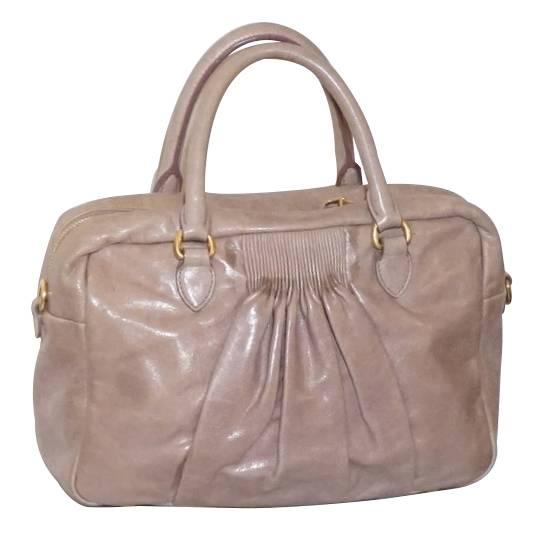 Rusty pink Miu Miu handbag
