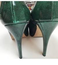 Brian Atwood Heels Pumps 6.5 Scarpa Emerald Green Angle5