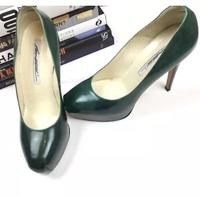 Brian Atwood Heels Pumps 6.5 Scarpa Emerald Green Angle7