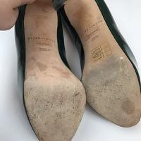 Brian Atwood Heels Pumps 6.5 Scarpa Emerald Green Angle9