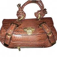 Versace Croc Bag
