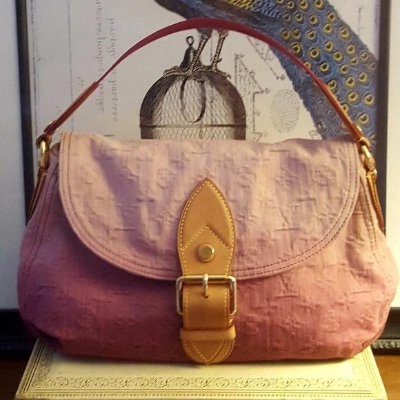 LV Rouge Fauviste Ltd Ed Denim Sunray Bag