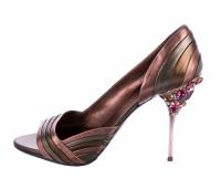 MIU MIU Jeweled d'Orsay Heels 40