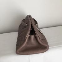 Chanel Mademoiselle caviar shoulder bag Angle3
