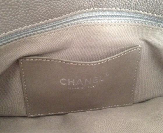 Chanel Mademoiselle caviar shoulder bag