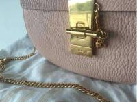 Chloe Drew bag in soft peach Angle5