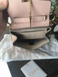 Chloe Drew bag in soft peach Angle7