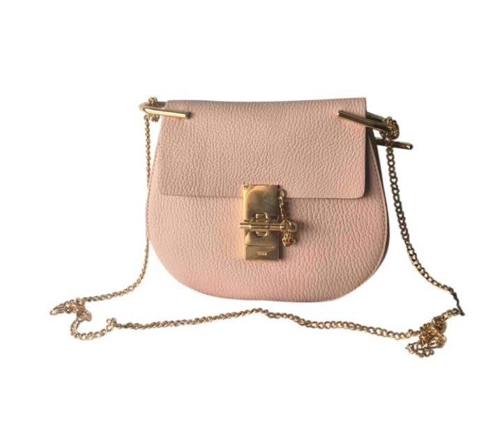 Chloe Drew bag in soft peach