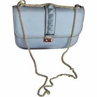 Rockstud handbag in baby blue