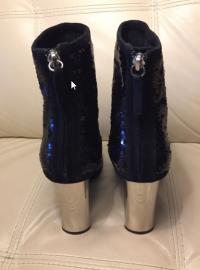 New Zanotti sequin boots runway Angle6