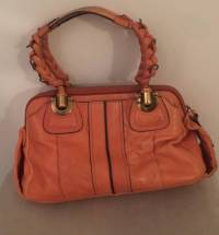 Chloe doctor bag in vibrant orange Angle6