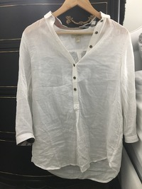 Burberry Linen Top