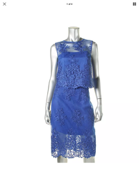 Monique Lhuillier Sexy Sleeveless Skirt & Top Angle4