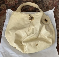 Yves Saint Laurent Patent Leather Bag