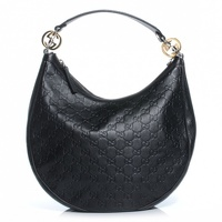 Gucci Twins Leather Hobo