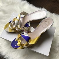 Pucci Satin Wedges