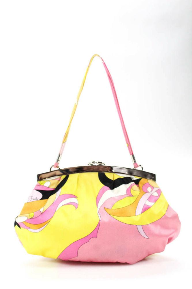 Pucci chain pouch bag