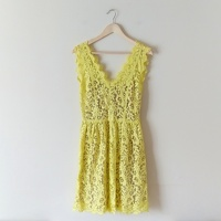 NWOT Madison Marcus Lace Sleeveless Dress