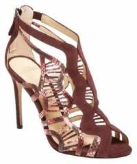 Alexandre Birman Python snakeskin sandals
