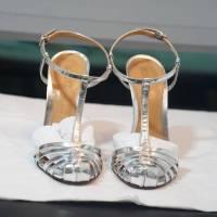 Schultz silver gate sandals Angle3