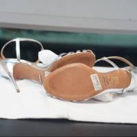 Schultz silver gate sandals Angle6