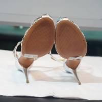 Schultz silver gate sandals Angle7