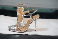 Schultz silver gate sandals Angle2