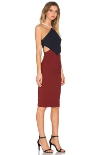 Elizabeth and James Cutout Asymetric Dress