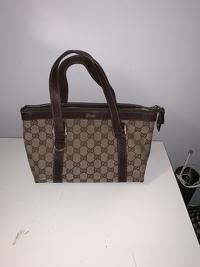 Gucci Monogram handbag Angle8