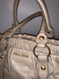 Miu Miu ruched handbag  Angle5