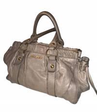 Miu Miu ruched handbag