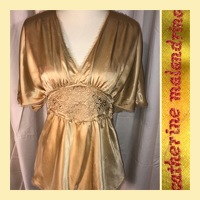 Golden Silk Top