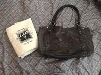 Brown Leather Melissa Leather Shoulder Bag