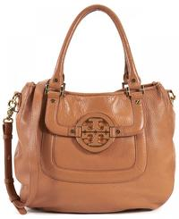 TORY BURCH BROWN LEATHER SHOULDER / HANDBAG