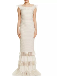 Badgley Mischka Long Formal Gown