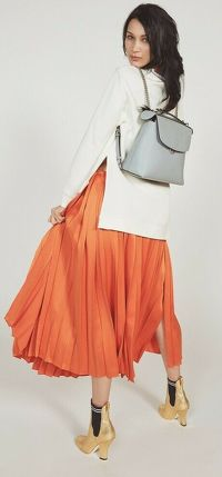 Fendi Back to School Leather Backpack Angle1