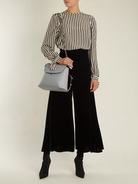 Fendi Back to School Leather Backpack Angle10