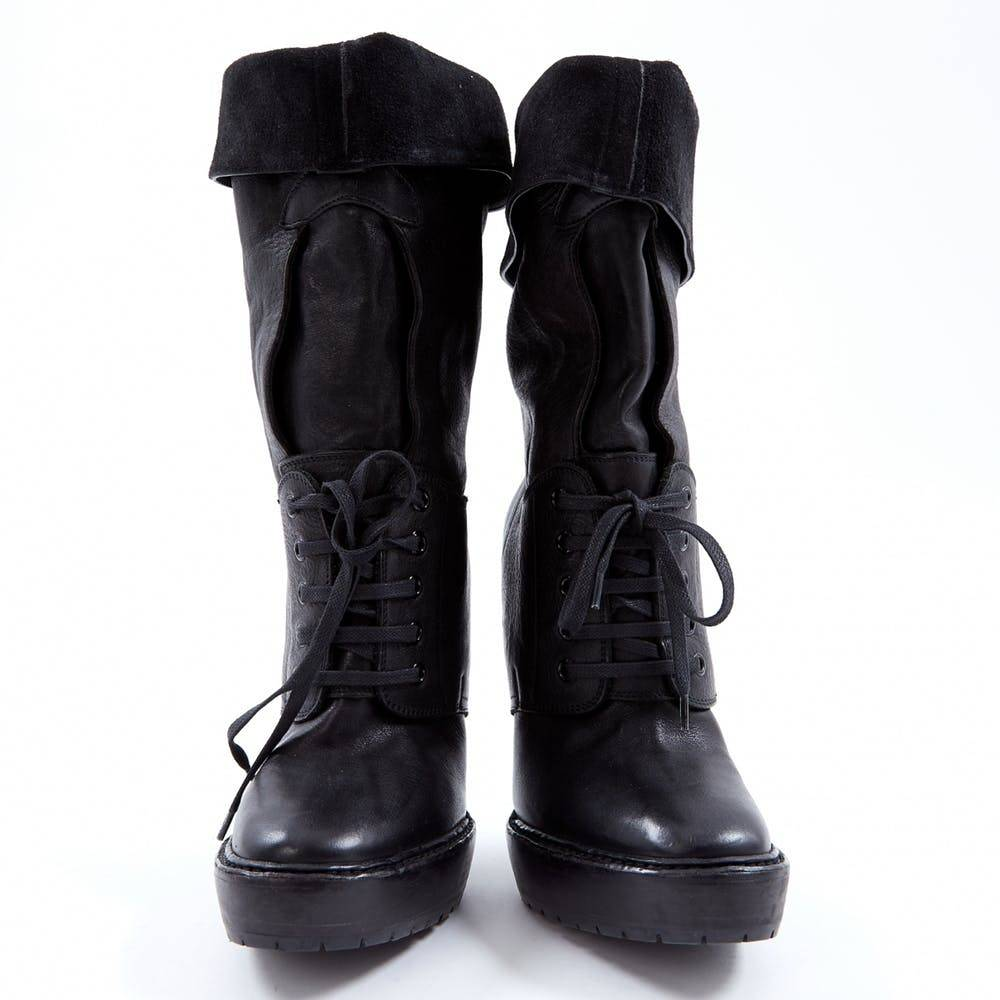 Lace up boots by Burberry