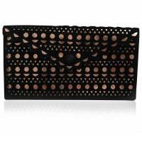 Alaia Envelope Clutch bag Angle1