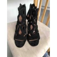 Alaia gate style sandals Angle2