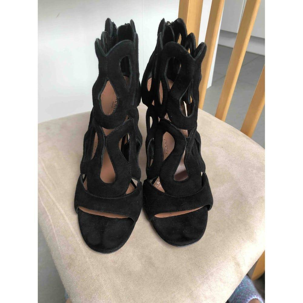Alaia gate style sandals