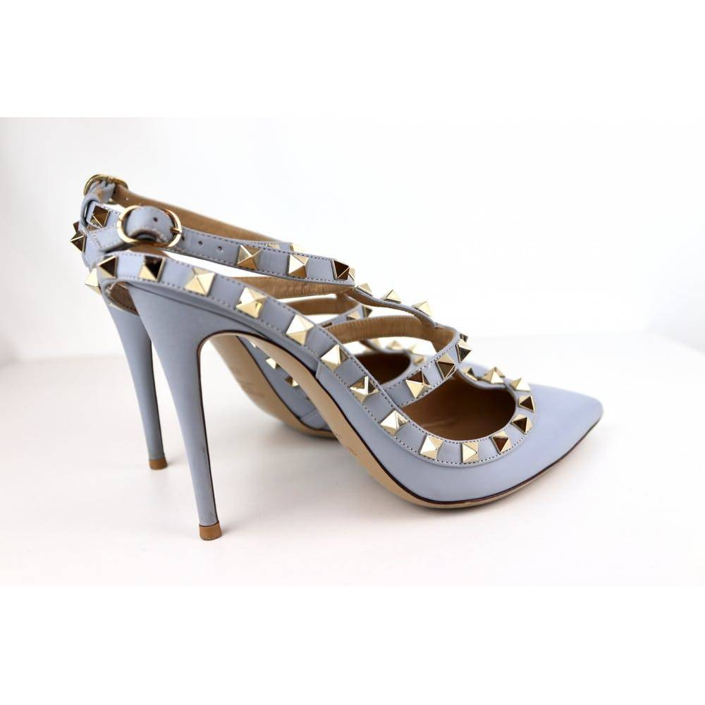 Valentino rock studs in powder blue